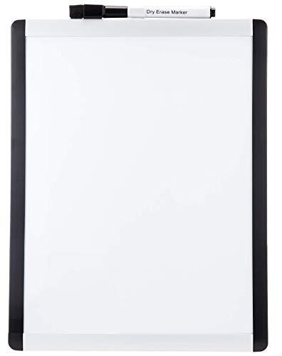 AmazonBasics Magnetic Dry Erase Board, plastic/aluminum frame, 8.5 x 11 Inch, 6 pack