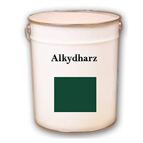 Hauptversand24 2,5 kg RAL 6005 Moosgrün grün Fassadenbeschichtung matt Fassadenfarbe Außenfarbe UV-Beständig