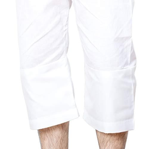 [キョウエツ]肌着ステテコ洗える和装下着無地メンズ(L)