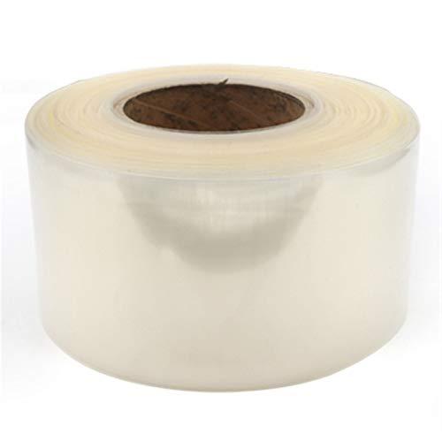 X-BAOFU, 1pc 85mm ~ 350mm 18650 Lithium Battery Heat Shrink Tube Li-ion Wrap Cover Skin PVC Shrinkable Tubing Film Sleeves Insulation Sheath (Color : Clear, Size : 350mm Width)