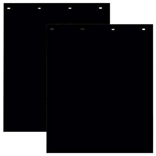 Buyers Products Polymer Semi-Truck Mud Flaps - Pair, 24in. x 30in. Black, Model...