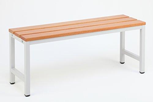 Sitzbank für Umkleideräume 150x30 cm, Marke: Szagato (Umkleidesitzbank, Umkleidebank, Garderobenbank, Bank mit Echtholz für Fitnessstudio)