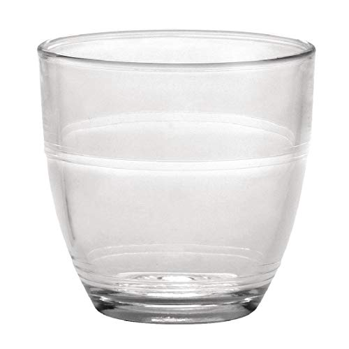 Duralex Gigogne - Vaso de 160 ml, sin marca de llenado, 6...