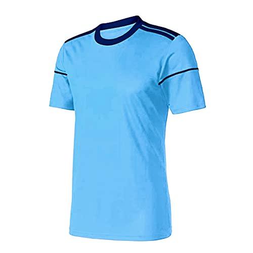 XDJSD Camiseta De Hombre De Manga Corta De Gran Tamaño Tops De Camiseta Camisetas De Cuello Redondo para Hombre Camisas De Hombre Camisetas De Manga Corta De Color Sólido Sueltas Ocasionales