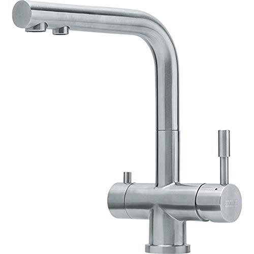 Franke 120.0179.978 Grifo de cocina con sistema de filtración de agua, Acero inoxidable
