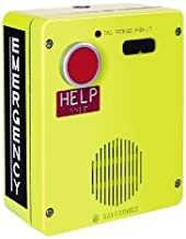 GAI-Tronics - 393AL-700 - VoIP, Weatherproof, Surface-mount, One-Button, Emergency Telephone, Aluminum Enclosure