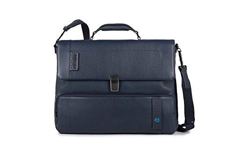 Piquadro Pulse 15'' Cartella con scomparto per laptop blu