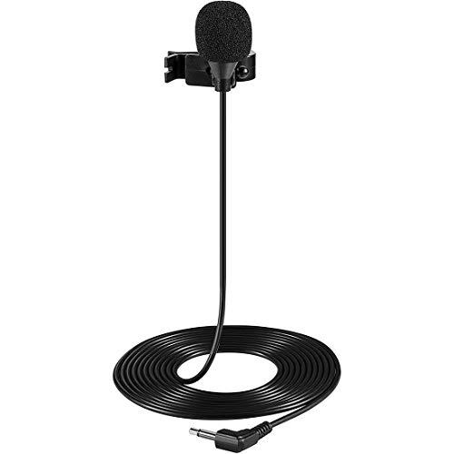 SNAIDEAL Auto Externes Mikrofon 3,5mm AUX Freisprecheinrichtung Anruf Sprachempfang