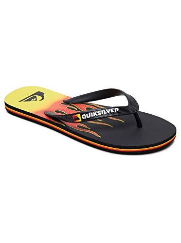 Quiksilver Molokai Fire, Zapatos de Playa y Piscina para Hombre, Multicolor...