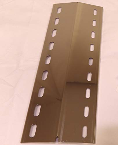 3 Stück V2A Flammenverteiler Edelstahl-Manufaktur Ersatz-Set: (395mm x 150mm x 1mm- 3 Stück) / Flammenblech/Grillblech/Brennerabdeckung/Flammenabdeckung für Gasgrills
