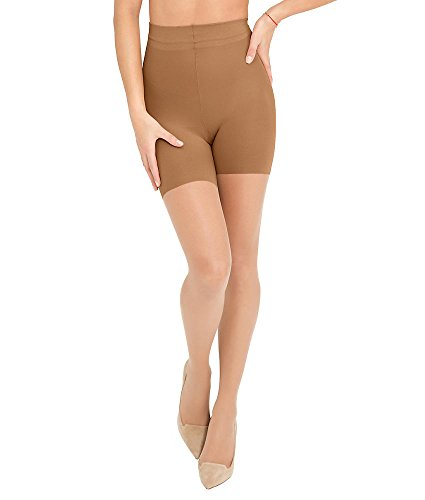 ASSETS Red Hot Label by SPANX Firm Control Shaping Pantyhose, 3, Barest Bare