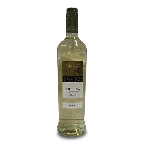 Rietburg Creation Riesling trocken Sekt aus der Pfalz mit 12,5% Vol. (0,75l Flasche)
