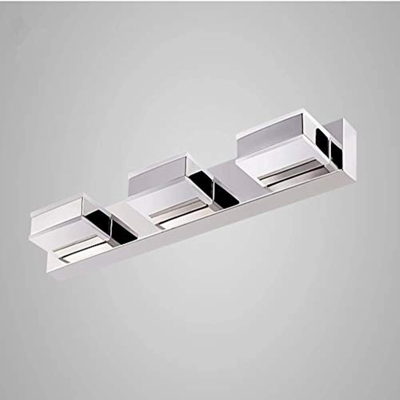 CCSUN Wasserdicht Anti-beschlag Led spiegelbeleuchtung, IP44 Modren Led spiegelleuchte badlampe Wand spiegel vordere eitelkeitslichter-drei Head Warmwei