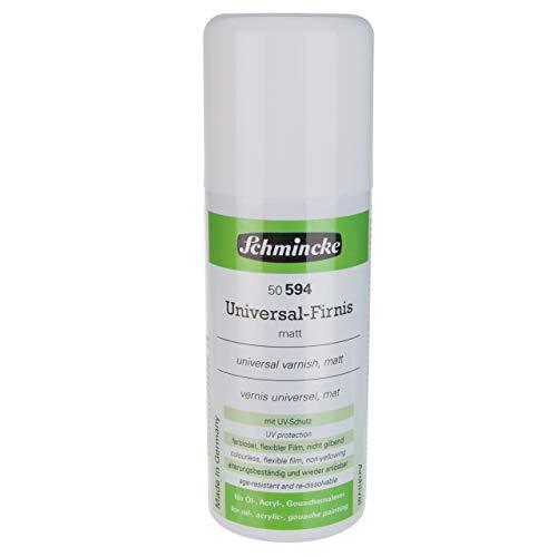 Schmincke - Vernis Universel mat(Aerospray) - pour toutes les couleurs d'huiles, gouaches et acryliques - 150ml