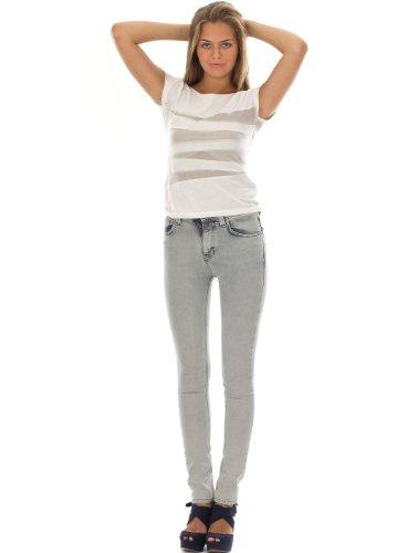 Nudie Jeans Co Jeans High Kai hellblau W26L32