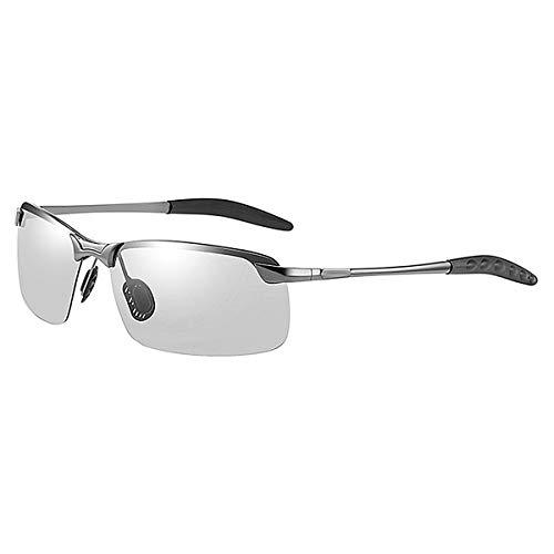 N\C Gafas de sol polarizadas para hombre con marco grande antirrayos UV.