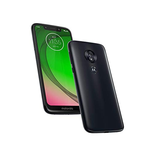 "Motorola Moto G7 Juego XT1952 32 GB + 2 GB de RAM 5,7"" MAX Vision LTE Desbloqueado de fábrica (Modelo Internacional) (Deep Indigo)"