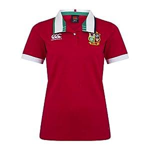 Canterbury Women's British and Irish Lions Short Sleeve Classic Jersey, Tango Red, 10 from Canterbury