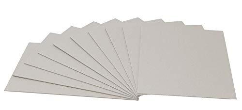 チップボール 芯材 工作用 カルトナージュ A4 厚み1.5mm 横目10枚入 厚紙 保護紙 補強 折れ曲がり防止板