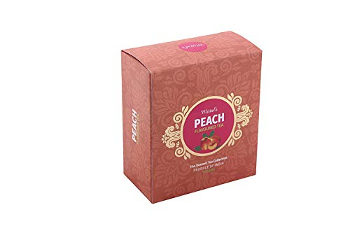 Mittal Teas | Peach Tea for Immunity | 100g | Hot or Cold Brew | Fruity, Smooth, Medium Strength, Delicious