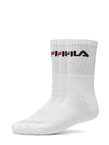 Herren Socken Fila Sport 3-Pack Socken- Gr. 43/46, White