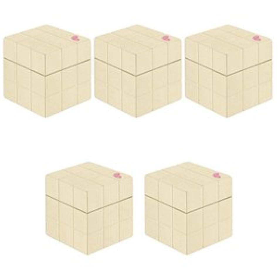 長方形南極製品【X5個セット】 アリミノ ピース プロデザインシリーズ ニュアンスワックス バニラ 80g