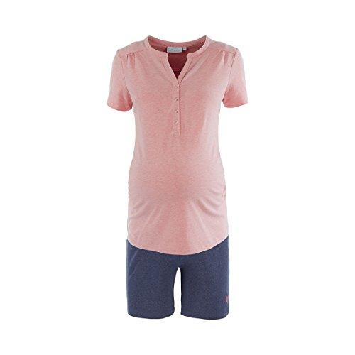 2HEARTS Pyjacourt de Grossesse et d'allaitement Sweet Dreams Pyjama de Grossesse Pyjama de Grossesse, Multicolore