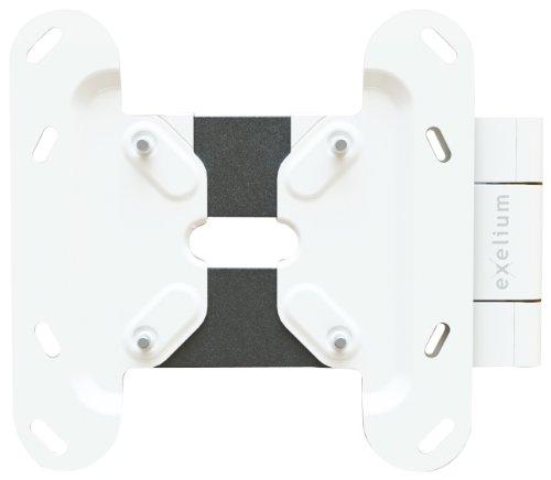 'XFlat–Supporto da Parete Neo10–Inclinabile e Orientabile (100°), max. 25kg, Distanza dalla Parete min 28 mm–max 278mm, per TV + Monitor da 15' a 32'