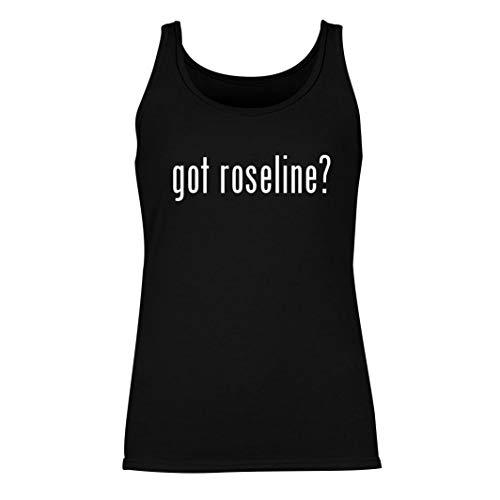 got roseline? - Women's Summer Tank Top, Black, Medium