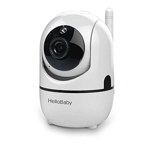 HelloBaby Extra Camera, Baby Unit Add-on Camera for HB65 and HB248, Not Compatible with HB66 HB32 Video Baby Monitor