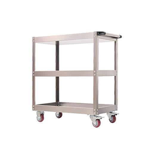 GUONING-L Rueda Mobile Repair Tool Shelf Shelf Herramienta de Reparación de la Compra de 3 Capas múltiples Funciones de facturación Carrito de Servicio