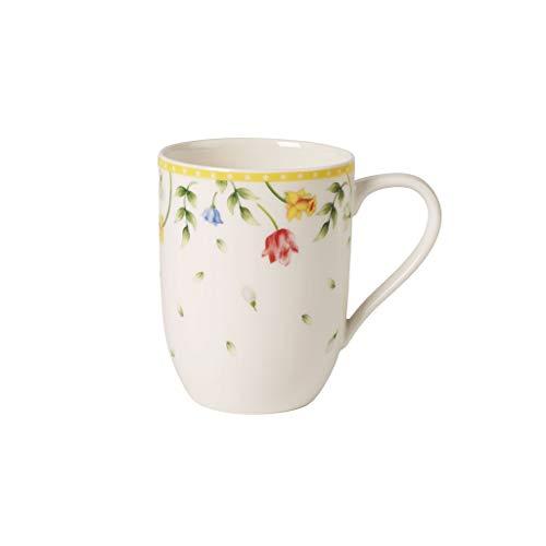 Villeroy & Boch Spring Awakening Kaffeebecher-Set 2-teilig, Premium Porzellan, Blumen