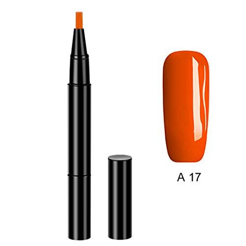 Moent 3 in 1 EIN-Schritt-UV-Gel-Nagellack-Pinselstift Keine Notwendigkeit Grundierung Einstufiger Kleber