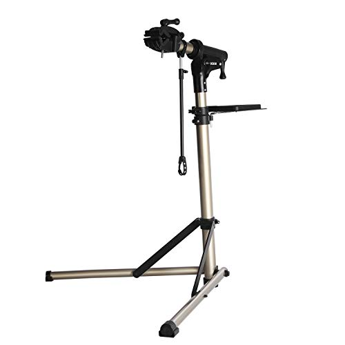 CXWXC Bike Repair Stand -Shop Home Bicycle Mechanic Maintenance Rack- Whole Aluminum Alloy- Height Adjustable