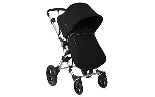 BabyAce Cubrepiés - Cubrepiés Polar, color negro - Compatible con BabyAce 042