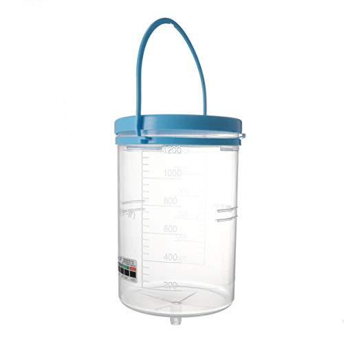MILISTEN Enema Bucket Kit Enema Cleaning Kit Limpiador de Vagina para Café Limpieza Detox Enemas Water Colon 1200Ml