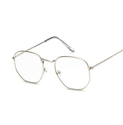 YUFUD Gafa de sol Gafas de sol Mujer Diseñador Espejo Retro Gafas de sol para mujer Gafas de sol vintage Mujer E