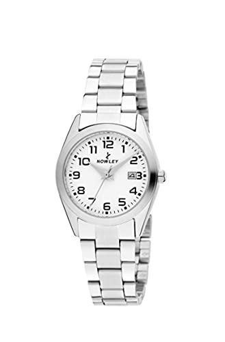 Reloj NOWLE Mujer Acero Calendario Sumergible 50 Metros