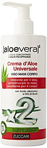 ZUCCARI Crema D'aloe Universale, Aloe Vera, 300 Millilitro