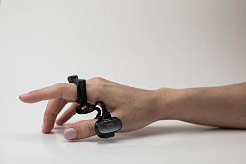 Tap Strap 2 - Wearable Keyboard, Mouse & Air Gesture Controller (Small)