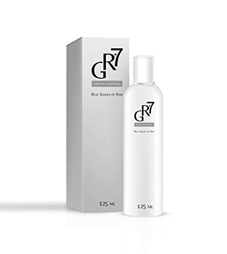 GR-7 Professional 125 ml Serum gegen graues Haar, Wiederherstellung der natürlichen Haarfarbe, Reduzierung des Haarausfall, Stimulation des Haarwuchs, keine Haarfarbe