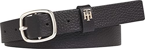 Tommy Hilfiger TH Lux Belt 2.5 Cinturón, Sky Captain, 100 para Mujer
