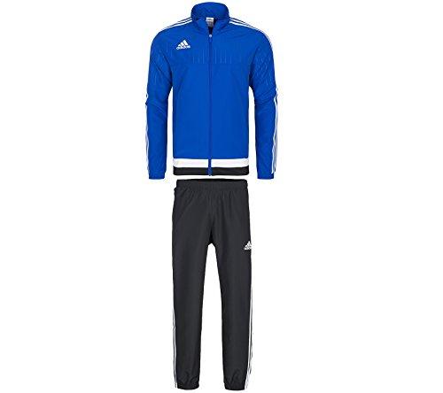 adidas Herren Trainingsanzug Tiro 15, Blau/Weiß, S