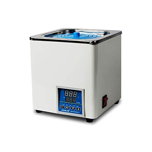 JOANLAB Digital Thermostatic Water Bath 1 Chamber 3L Water Bath with with Selectable Openings for Lab 110V/60 Hz