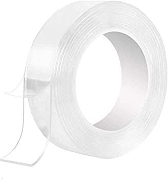 Nano Double Sided 9.85/16.5Ft Washable Traceless Clear Adhesive Tape