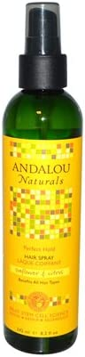Andalou Naturals Hair Spray Snf Free shipping anywhere OFFer in the nation Prfct Hold
