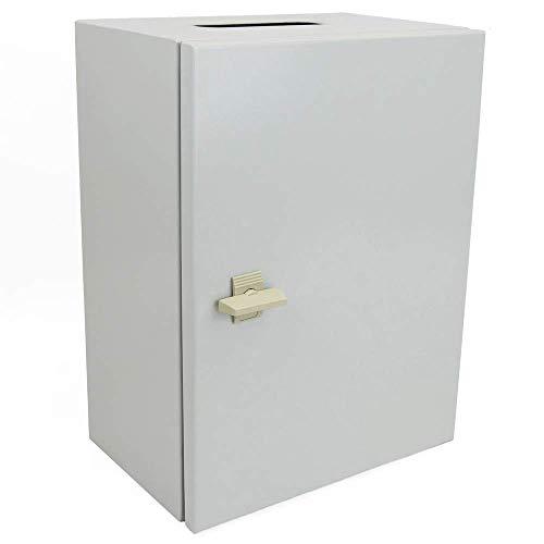 BeMatik - Caja de distribución eléctrica metálica con protección IP65 para fijación a Pared 500x300x300mm