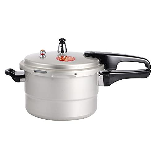 Utensilios de cocina, conveniente y seguro Aleación de aluminio a prueba de explosiones Fácil de abrir Olla a presión de cocina fácil de sostener para restaurante para vapor(20cm (gas, gas))