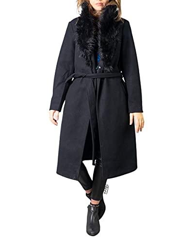 Only - Abrigo para mujer Berna Wrap Coat OTW 15230302 m negro