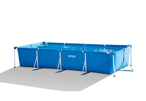 Intex Frame Pool Set Juego de Piscina Rectangular (4,5 x 2,2 x 0,84 m)